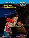 img - for Deep Blue One Room Sunday School Leader's Guide Winter 2015-16: Ages 3-12 book / textbook / text book