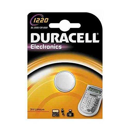 """DURACELL Lot de 5 Piles bouton lithium """"Electronics"""", CR1220"""
