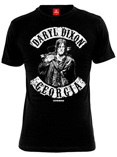 The Walking Dead Daryl Dixon - Georgia T-Shirt nero S