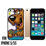 Scooby Doo Custom made Case/Cover/skin FOR Apple iPhone 5/5S - Black - Rubber Case ( Ship From CA)