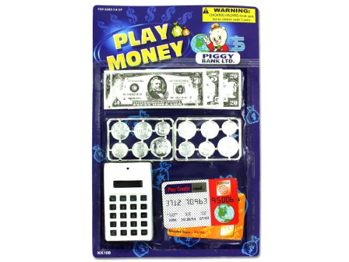 Play Money Set (Case Of 24) front-1074348