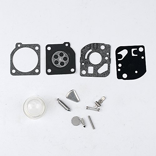 Carburetor Repair Kits Gaskets Diaphragm for ZAMA # RB-47 fits Poulan WeedEater Craftsman Trimmers Blowers (Craftsman Carburetor Kit compare prices)