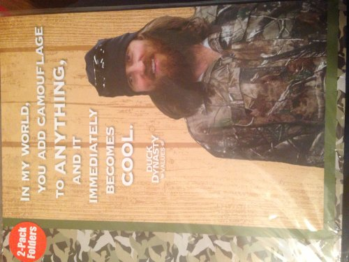 "Duck Dynasty Values A&E School Folders 2-Pack, Back To School ""Becomes Cool"" And ""C Average Man"""
