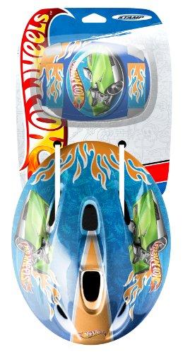 Imagen principal de Hot Wheels KH950507 - Casco, coderas y rodilleras infantiles