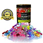 WowCrafts Wonder Clips 50 PACK,Sewing...