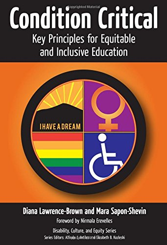 Condition Critical: Key Principles for Equitable and Inclusive Education (Disability, Equity, and Culture Series)