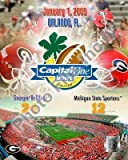 Georgia Bulldogs 2009 Capital One Bowl 8x10 Photo