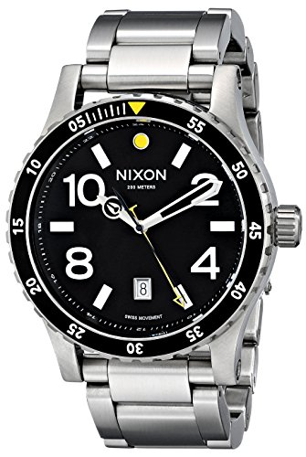 Nixon - Mens Analog Diplomat SS Watch, Color: O/S
