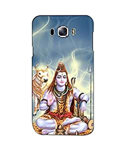 Crazymonk Premium Digital Printed 3D Back Cover For Samsung Galaxy J7(2016)