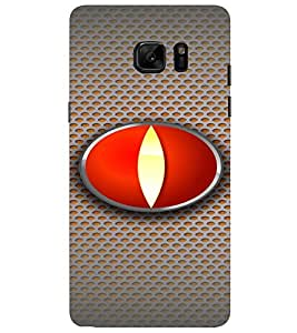 PrintVisa Modern Art Eye 3D Hard Polycarbonate Designer Back Case Cover for SAMSUNG GALAXY NOTE 7