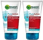 Garnier - Pure Active  - Nettoyant cr...