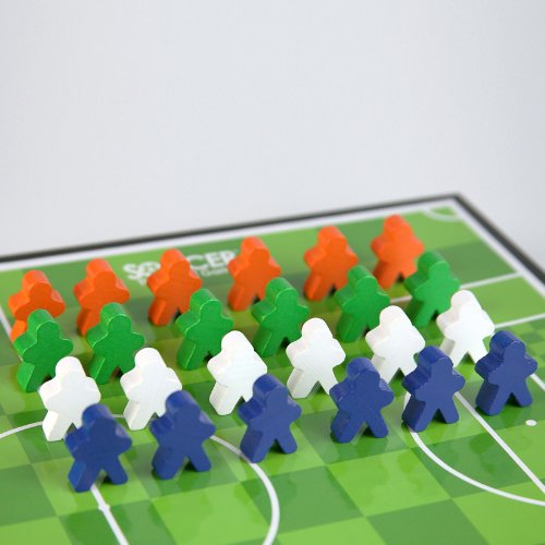 SOCCER The Board Game Expansion Pack (Set of 4 additional teams)