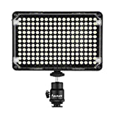 Aputure CRI 95+ New 198 LEDs Camera Video Light 5500-3200K with Carrying Bag for Nikon: D4S / D4 / D3X Nikon D810 D800/D800E D750 D610 D300S D7100 D7000 D5300 D5200 D5100 D3300 D3200 D3100 COOLPIX S6900 COOLPIX S810c COOLPIX P600 COOLPIX S6800