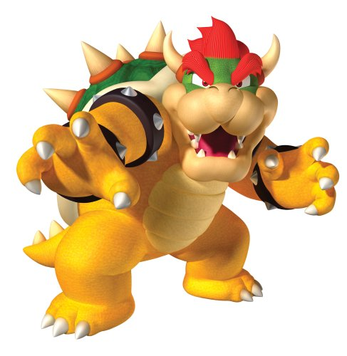 Roommates 684Slm Bowser Peel & Stick Giant Wall Decal - 1