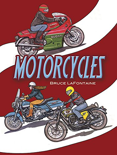 Motorcycles Colouring Book (Dover History Coloring Book)