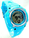 Ravel Boys/Kids Digital LCD Sports Watch - Gift Boxed - Multi Functional- 14-20cm Strap - 3ATM