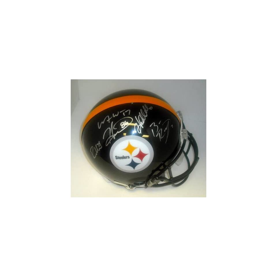 Pittsburgh Steelers 5 Sig. Offense Hand Signed Autographed