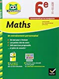 Maths 6e: cahier de révision et d'entraînement