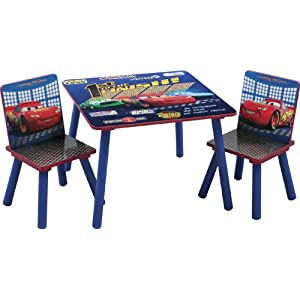 Cars Kids' Table and Chair Set