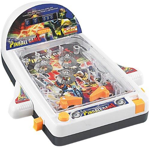 Playtastic-Mini-Tisch-Flipper-26-x-20-cm-mit-Raumschiff-Design
