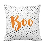 Chic Boo Halloween Dotted 18*18 pillow Case