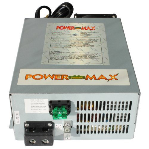 Powermax 110 Volt to 12 Volt DC Power Supply Converter Charger for Rv Pm3-55 (55 Amp)