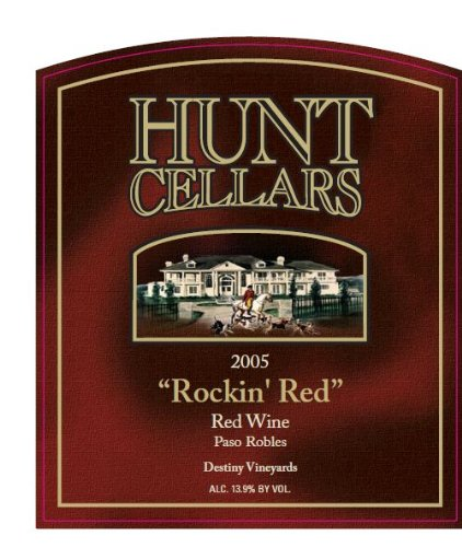2005 Hunt Cellars 'Rockin Red' Red Wine, Paso Robles 750 Ml