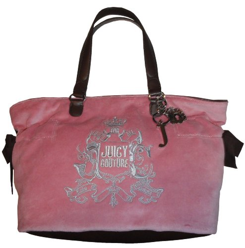 Women's Juicy Couture Purse Handbag Bella Tote Pink