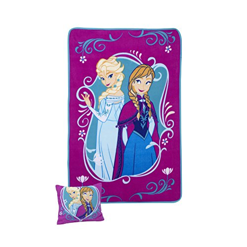 Disney Toddler Pillow and Blanket Set, Frozen - 1