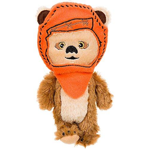 STAR-WARS-Ewok-Plush-Dog-Toy-8-L-X-4-W-Orange