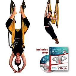 Inversion Sling - Yoga Swing (Golden Orange)