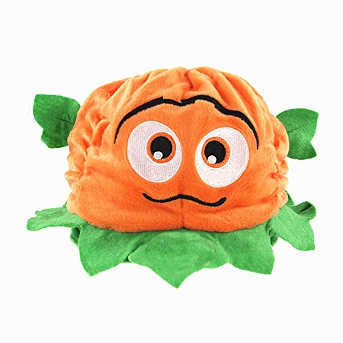 Halloween Party Kids Infant Unisex Pumpkin Hat Cap Costume Orange Green