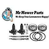 "Mr Mower Part AYP 42"" Deck Rebuild Kit For Sears Craftsman Lawn Mowers Short Belt"