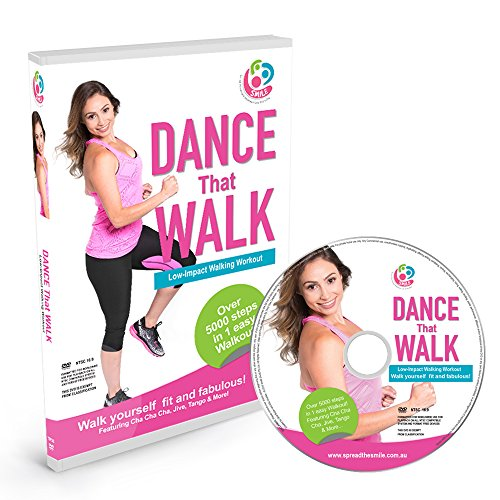 DANCE That WALK - 5000 Steps in One Easy Low Impact Walking Workout DVD