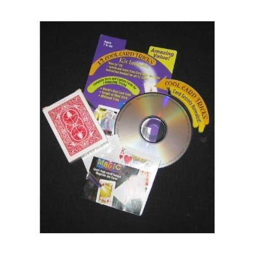 Magic Learn From the World Famous Magitian Jim Karol 12 Card Tricks with How to Cd