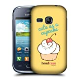 Head Case Sweet And Cute Cupcakes Back Case Cover For Samsung Galaxy Young S6310