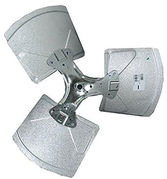 Fan01223 trane replacement condenser fan blade hvac for Trane fan motor replacement cost