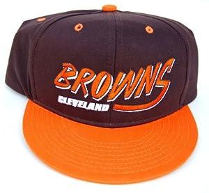 Vintage Cleveland Browns Flatbill Snapback Cap Hat