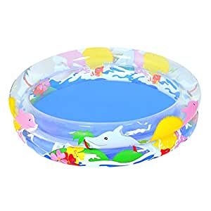 "Bestway 40""x8"" Transparent Sea Life Pool"