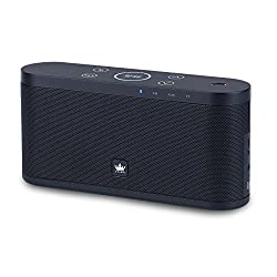 KINGONE K9 Bluetooth Speaker with TF MP3 Player and Handsfree Surround Sound & Super Bass Black