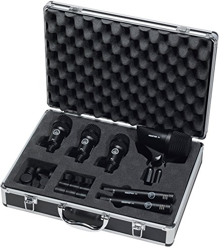 Akg Pro Audio Groove Pack High-Performance Drum Microphone Set