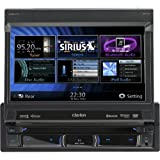 #6: Clarion NZ501 6.5-Inch 2-DIN Multimedia Control Station with Touch Panel Control, USB and Built-In-Navigation/Bluetooth