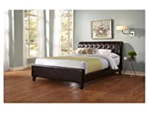 Hot Sale Leggett and Platt Fashion Bed Group Omnia Sable Bed, Full, Brown