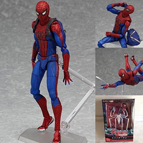 "6"" Marvel Spiderman Figma PVC Spider Man Action Hero Figure Spider-man"