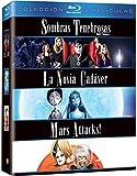Pack Tim Burton: Sombras Tenebrosas + La Novia Cadáver + Mars Attacks! [Blu-ray]