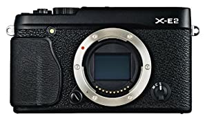 Fujifilm X-E2 Systemkamera (16 Megapixel APS-C X-Trans CMOS II Sensor, 7,6 cm (3 Zoll) LCD-Display, Full HD, HDMI, USB) nur Gehäuse schwarz
