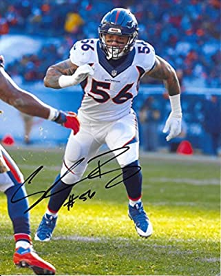 Shane Ray, Denver Broncos, Signed, Autographed, 8X10 Photo, a COA with the Proof Photo of Ray Signing Will Be Included.