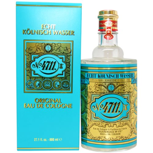 Amazon.com : 4711 By Muelhens For Men. Eau De Cologne Splash 27 Oz. : Beauty