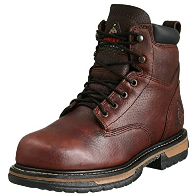 Rocky Men's Iron Clad Six Inch Work Boot