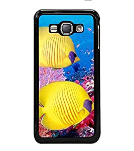 printtech Coral Sea Fish Back Case Cover for Samsung Galaxy J1 (2016) :: Samsung Galaxy J1 (2016) Duos with dual-SIM card slots :: Galaxy Express 3 J120A (AT&T); J120H, J120M, J120M, J120T